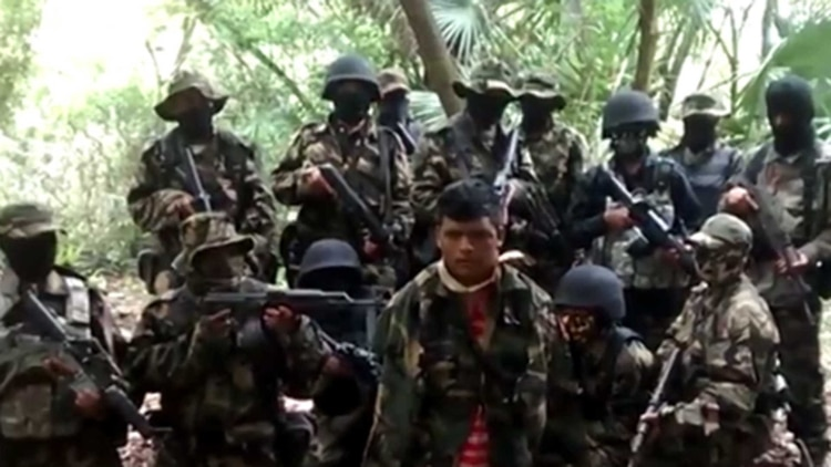 Miembros del cártel mexicano Los Zetas (Foto: Archivo)