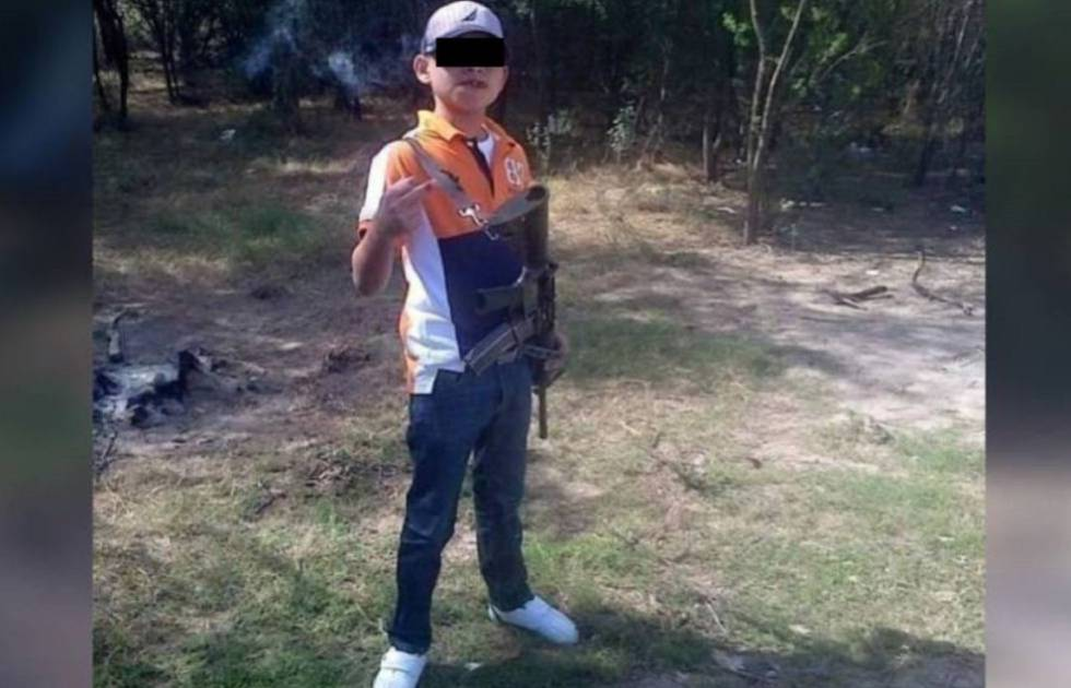 Juanito Pistolas, sicario de 16 años, abatido en Tamaulipas (México).