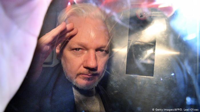 Julian Assange. (Archivo).