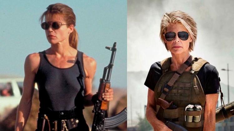 Linda Hamilton vuelve al rol de Sarah Connor