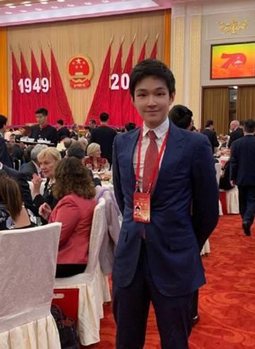 Eric Tse, el hijo menor del multimillonario chino Tse Ping, en una imagen publicada en la famosa red social china Weibo.