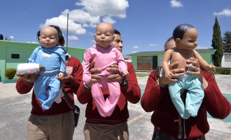 Capacitación sobre embarazos a menores de edad en México.
