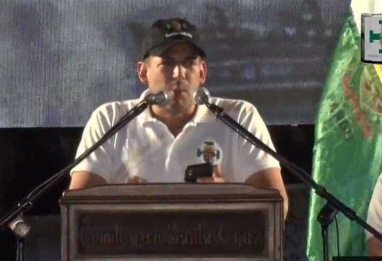 El líder cívico pidió al presidente no confrontar más al país. (Foto: captura)