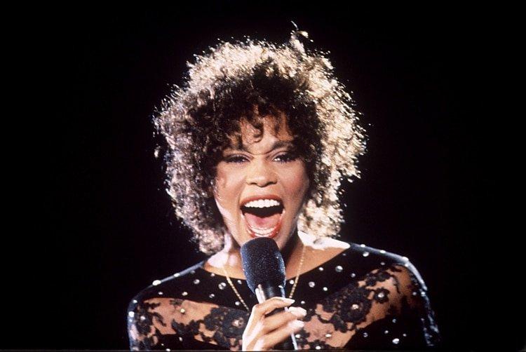 Whitney Houston. (Photo by Jean Alan Houghton/Shutterstock)