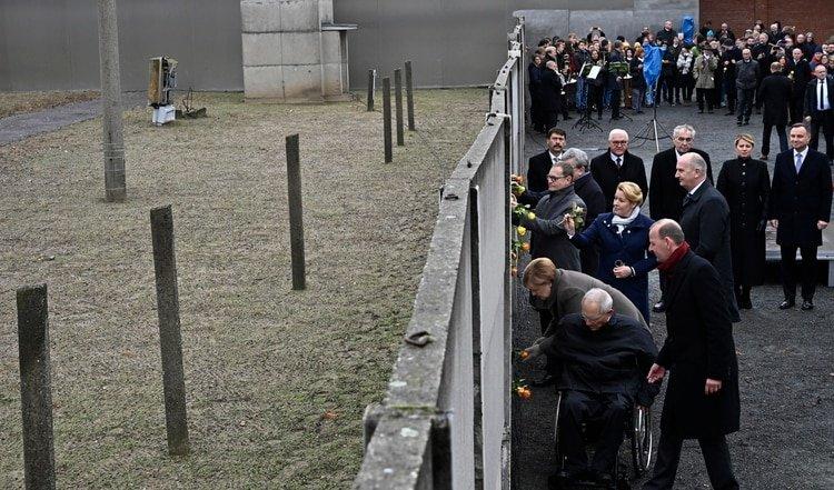 El acto se desarrolló este sábado (Tobias SCHWARZ / AFP)