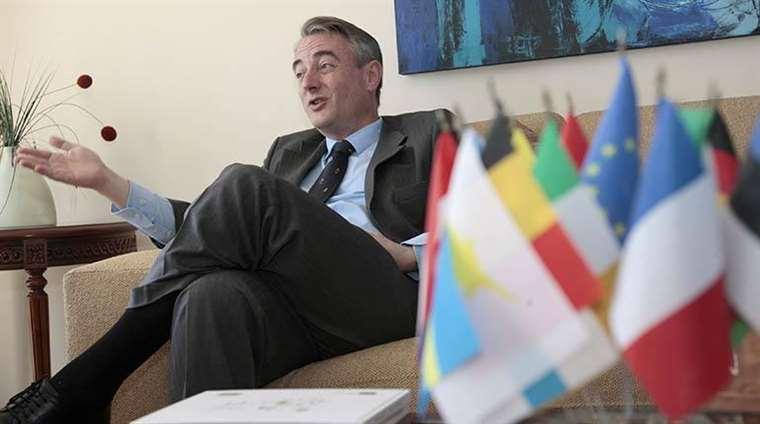 León de la Torre, embajador de la UE (Internet)