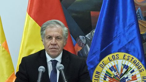 Luis Almagro, secretario general de la OEA, en una fotografía de archivo.
