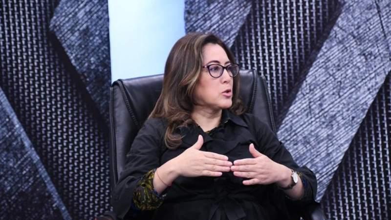 Renuncia  vicecanciller  Carmen Almendras
