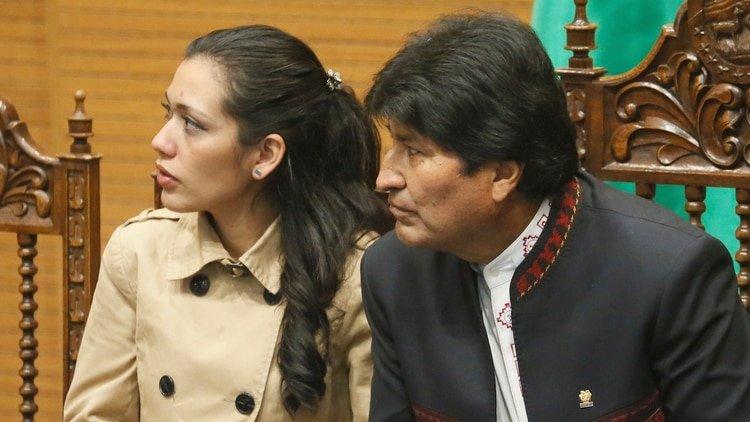 Adriana Salvatierra y Evo Morales (Reuters)