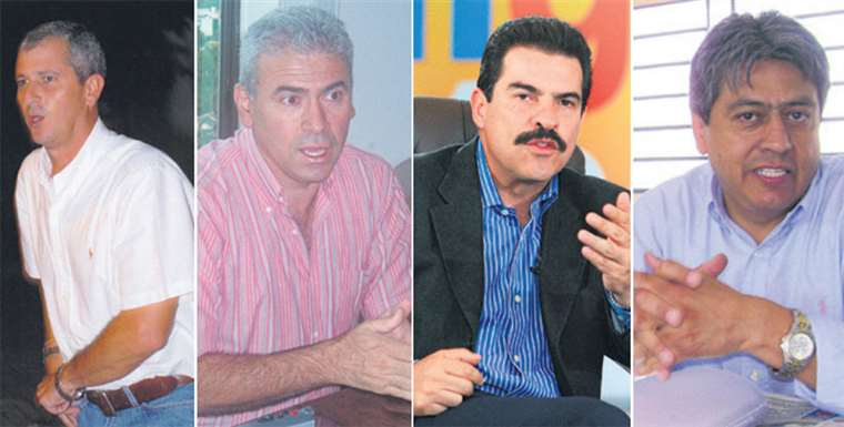 Branko Marinkovic, Guido Áñez, Mánfred Reyes Villa y Mario Cossío, que viven fuera del país, se pronunciaron sobre la renuncia de Morales y sobre la posibilidad de retorno al país