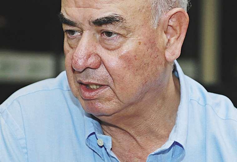 José Luis Parada asumió el cargo de ministro de Economía I Foto: Fuad Landívar.
