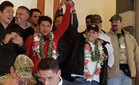 Presidenta Áñez se solidariza con Camacho y Pumari por la intolerancia que  sufrieron en La Paz – eju.tv
