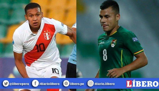 Perú vs Bolivia Sub 23 EN VIVO vía DirecTV Go y América TV. Foto: Composición
