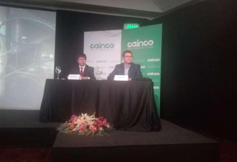En Cainco (Foto: Juan Carlos Salinas)