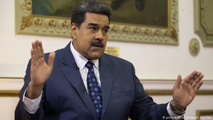 Nicolas Maduro (picture-alliance/dpa/A. Cubillos)
