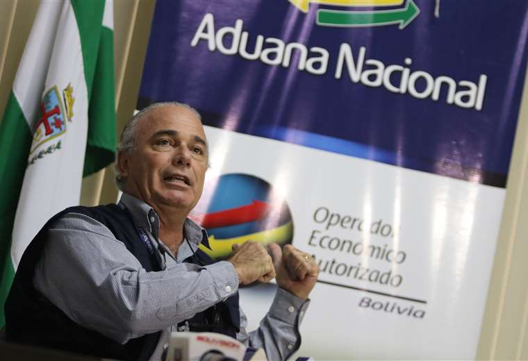Gestión. El presidente ejecutivo de la Aduana afirmó que trabaja para convertir la entidad en un ambiente mucho más amigable para los empresarios, los importadores y los exportadores del país