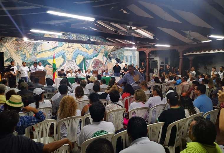 Este es el ambiente en Comité pro Santa Cruz. Foto: Pablo Ortiz