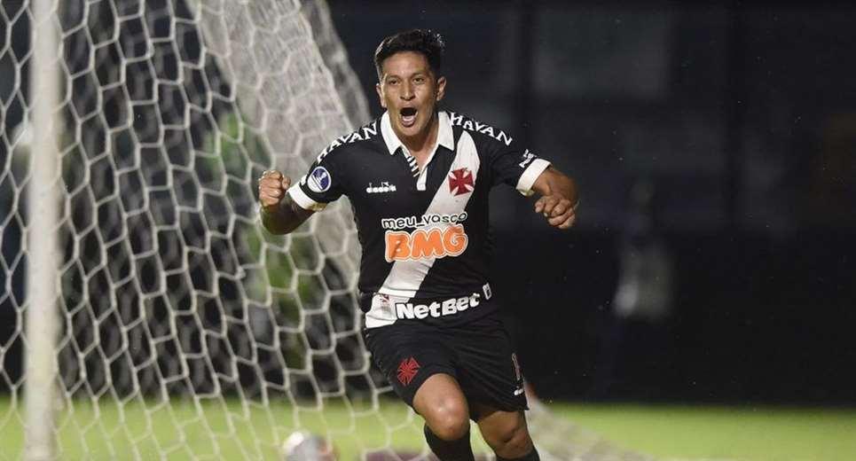 El argentino Germán Cano hizo el gol de Vasco en el partido de ida ante Oriente. Foto: Interne