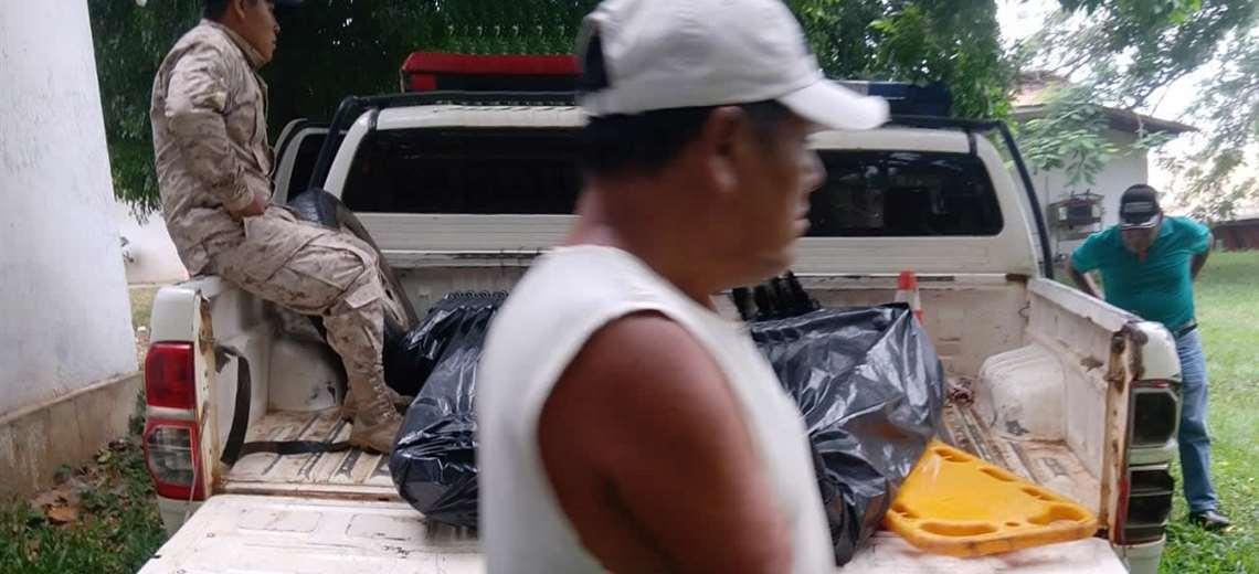 La Policía realizó el levantamiento legal del cadáver