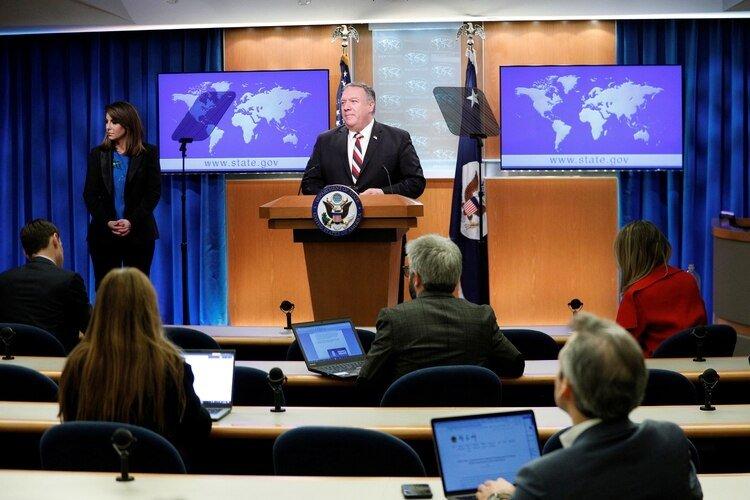 El secretario de Estado de EEUU, Mike Pompeo (REUTERS/Tom Brenner)