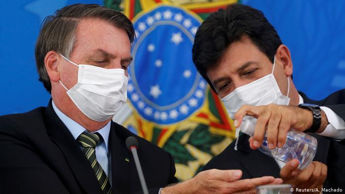 Brasilien | Coronavirus | Jair Bolsonaro, Präsident (Reuters/A. Machado)