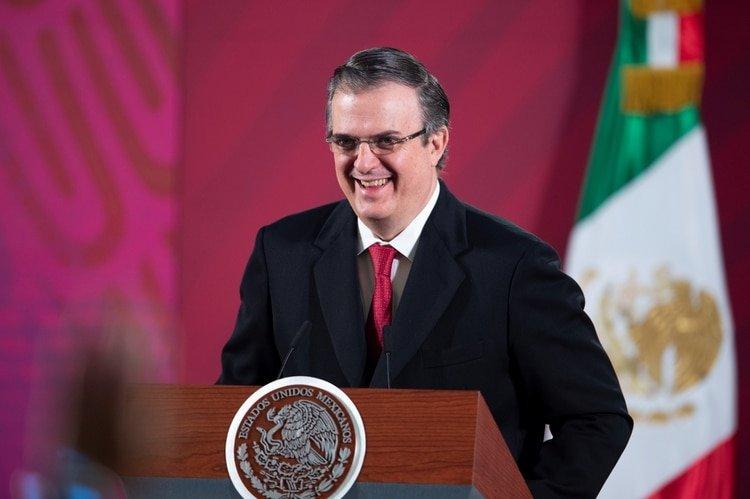 Marcel Ebrard anunció que no se cerraría la frontera (Foto: vía Reuters)