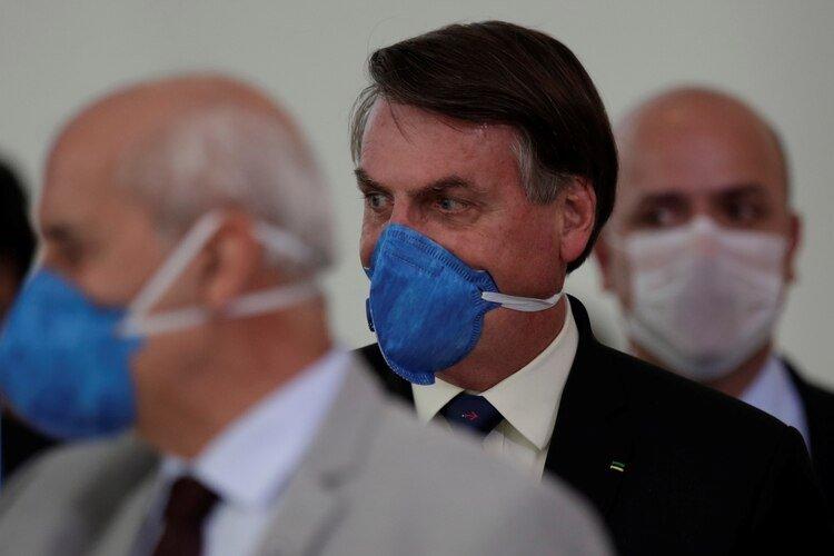Bolsonaro se someterá a un tercer test por coronavirus (REUTERS/Ueslei Marcelino)