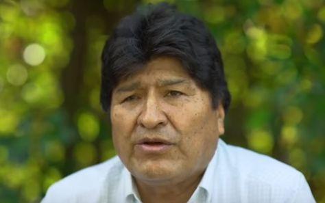 El expresidente Evo Morales envía un mensaje al país. Foto: captura video