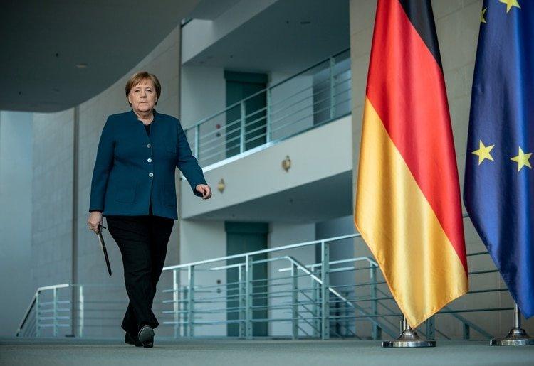 Angela Merkel, canciller alemana (Michel Kappeler/Pool via REUTERS)