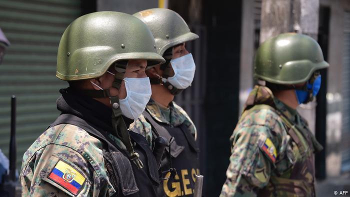 Foto de soldados de Ecuador