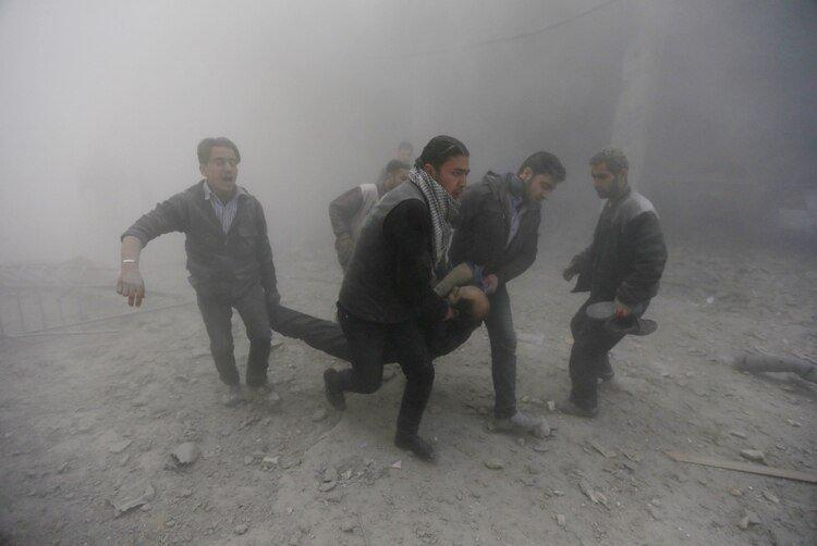 Siria, país que lleva nueve años de guerra civil, registró este fin de semana su primer caso de coronavirus (REUTERS/Bassam Khabieh)