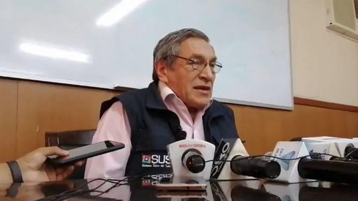 Arturo Quiñonez, jede de epidemiología del Sedes.