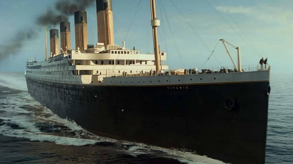 Foto: Imagen de la película 'Titanic', de James Cameron.