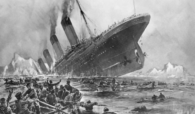 Construido entre 1909 y 1912, este barco inglés fue el transatlántico más grande del mundo. La noche del 14 de abril de 1912, durante su viaje inaugural, se hundió, causando la muerte de 1.514 personas.