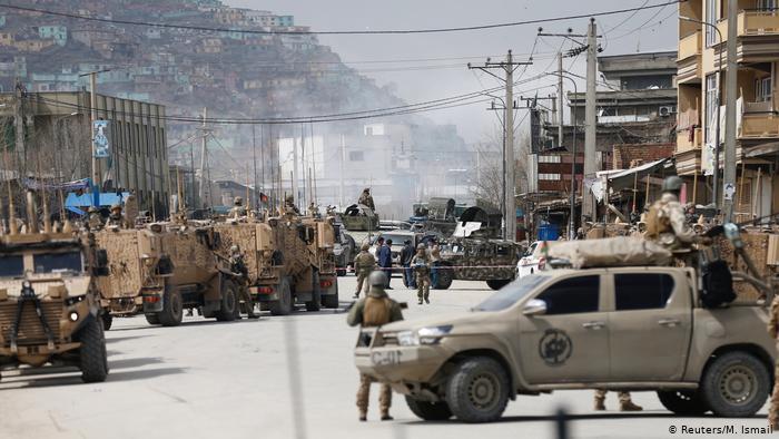 Kabul, luego del ataque a un templo de la minoría sij. El EI se atribuyó la autoría del atentado, según la agencia AFP.