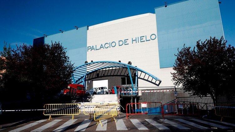 El Palacio de Hielo de Madrid que será usado como morgue (EFE/Mariscal)