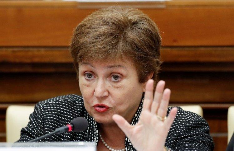 La directora del FMI, Kristalina Georgieva (Reuters)