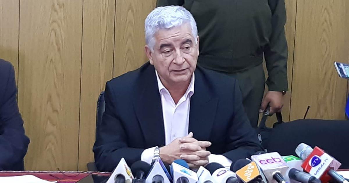 Resultado de imagen de El ministro de Desarrollo Productivo, Wilfredo Rojo,