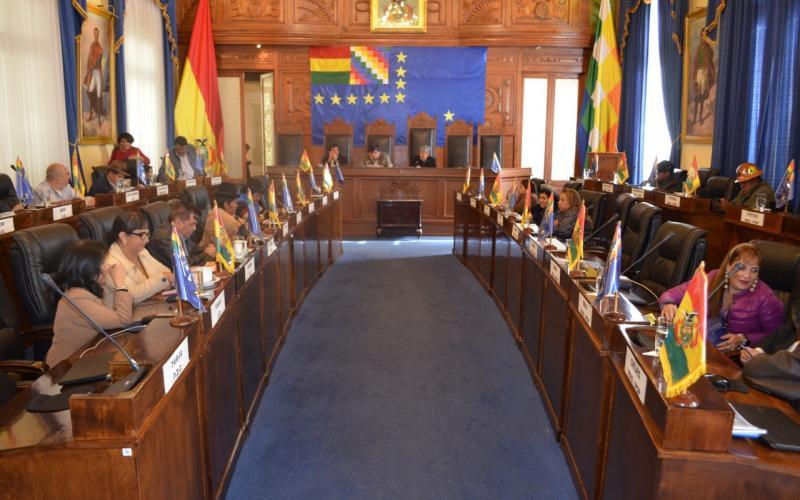 Resultado de imagen de La Cámara de Senadores  de bolivia