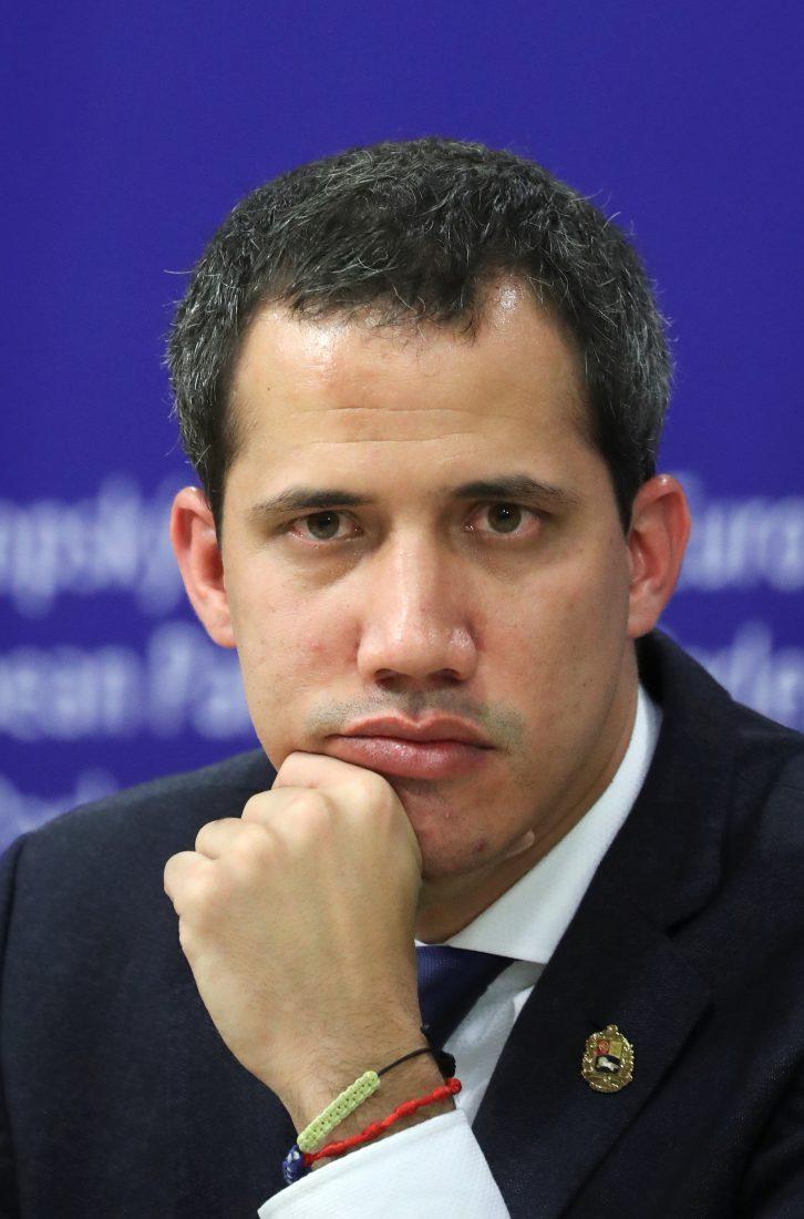 Juan Guaidó , presidente encargado de Venezuela