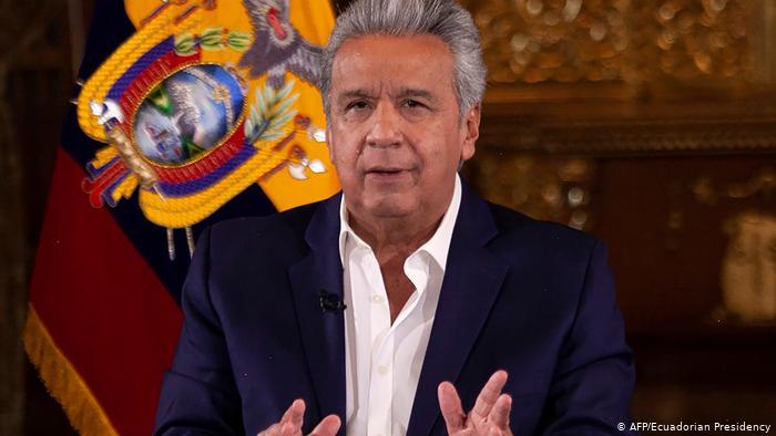Ecuador Präsident Lenin Moreno (AFP/Ecuadorian Presidency)
