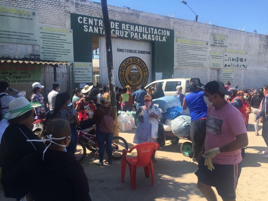 Cárcel de Palmasola Foto: Defensoría del Pueblo
