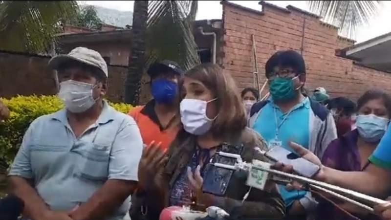 Vecinos de Caranavi piden disculpas a los médicos que agredieron