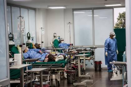 Un hospital de Perú (EFE/ Sergi Rugrand)