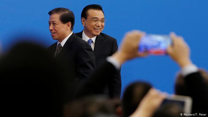 China Nationaler Volkskongress | Li Keqiang, Ministerpräsident (Reuters/T. Peter)