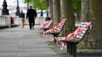 La calles del Reino Unido en pleno brote de coronavirus (EFE/EPA/ANDY RAIN/Archivo)