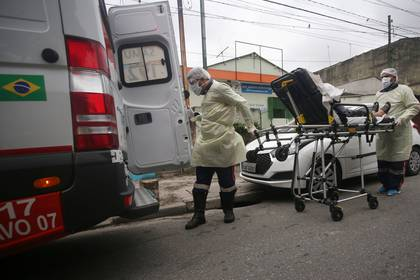Brasil es el segundo país con más infectados por coronavirus en todo el mundo (REUTERS/Rahel Patrasso)