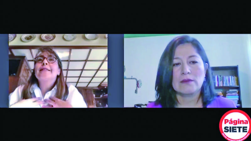 Esposa de Navajas dice que el  Gobierno los dejó solos