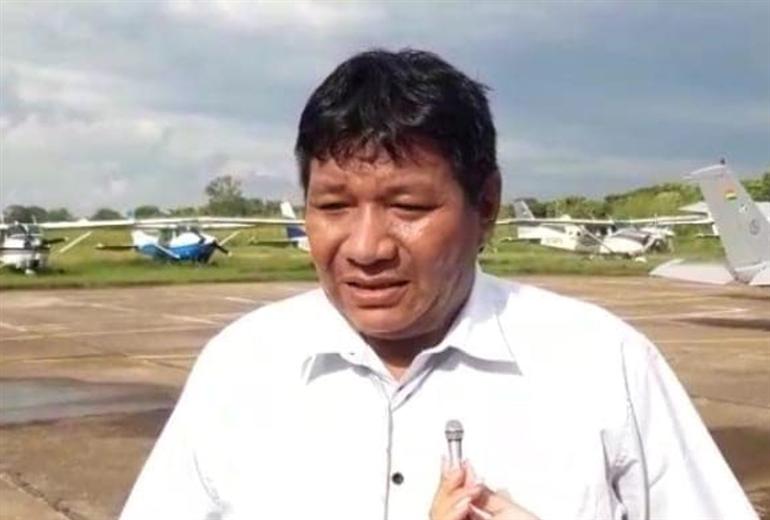 Fanor Amapo, gobernador de Beni. Foto. Internet