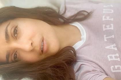 Salma Hayek disfruta mucho los días en que no tiene la presión de maquillarse (IG: salmahayek)